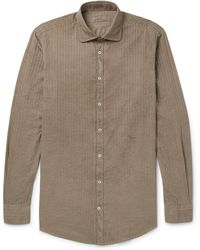 Massimo Alba - Canary Striped Cotton Shirt - Lyst