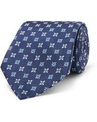 Turnbull & Asser - 8cm Silk-jacquard Tie - Lyst