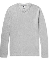 NN07 - Clive Cotton And Modal-blend T-shirt - Lyst