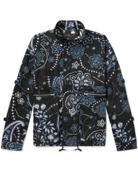 Flagstuff - Printed Cotton Field Jacket - Lyst