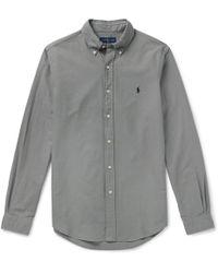 Polo Ralph Lauren - Slim-fit Cotton Oxford Shirt - Lyst