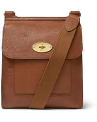 12600cb86a Mulberry Antony Small Messenger Bag in Brown for Men - Lyst