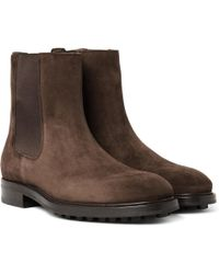 Tom Ford - Suede Chelsea Boots - Lyst