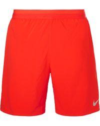 Nike - Distance Dri-fit Mesh Shorts - Lyst