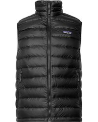 Patagonia | Quilted Dwr-coated Ripstop Down Gilet | Lyst