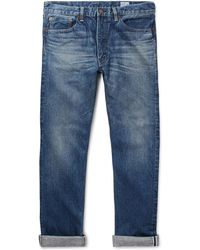 Orslow - 107 Slim-fit Washed Selvedge Denim Jeans - Lyst