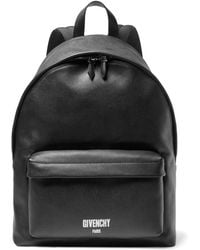 Givenchy - Polished Pebble-grain Leather Backpack - Lyst