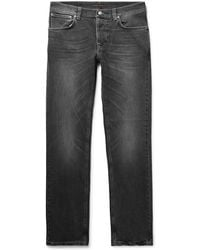 bb767e97 Nudie Jeans Burgundy Organic Corduroy Grim Tim Trousers in Red for Men -  Lyst