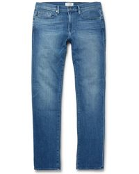 FRAME - L'homme Slim-fit Stretch-denim Jeans - Lyst