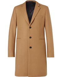 PS by Paul Smith - Wool-blend Coat - Lyst