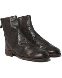 Guidi - Leather Boots - Lyst