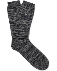 Folk - Mélange Stretch Cotton-blend Socks - Lyst