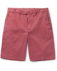 Hackett - Core Stretch-cotton Shorts - Lyst