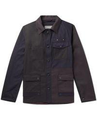 Lanvin - Patchwork Cotton Jacket - Lyst