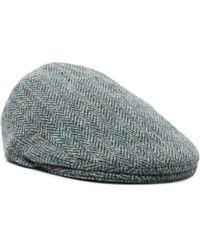 Anderson & Sheppard - Herringbone Wool-tweed Flat Cap - Lyst
