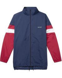 Balenciaga - Oversized Shell Track Jacket - Lyst