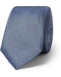 BOSS - 6cm Pin-dot Silk-twill Tie - Lyst