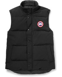 Canada Goose - Garson Quilted Shell Down Gilet - Lyst