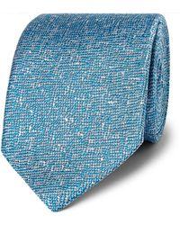 Richard James - Mélange Woven Silk Tie - Lyst