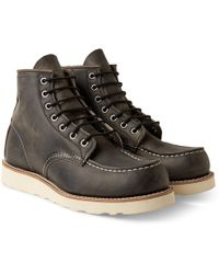 "Red Wing - 8890 Heritage Work 6"" Moc Toe Boot - Lyst"