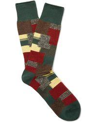 Anonymous Ism - Jacquard-knit Socks - Lyst