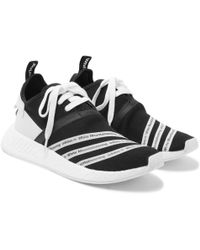 best website 49421 ae964 adidas Originals - White Mountaineering Nmd R2 Primeknit Sneakers - Lyst