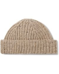 J.Crew - Ribbed Donegal Wool-blend Beanie - Lyst