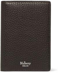 Mulberry - Full-grain Leather Billfold Cardholder - Lyst