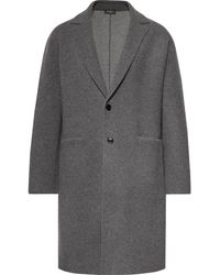 Berluti - Unstructured Wool And Cashmere-blend Overcoat - Lyst