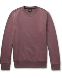 PS by Paul Smith | Loopback Organic Cotton-jersey Sweatshirt | Lyst