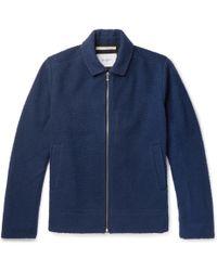 Norse Projects - Elliot Boiled Wool-blend Jacket - Lyst