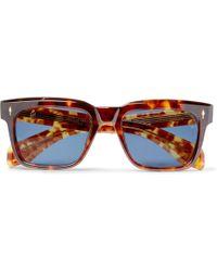 Jacques Marie Mage - - Torino Square-frame Tortoiseshell Acetate Sunglasses - Tortoiseshell - Lyst
