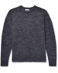 Etro - Ribbed-knit Jumper - Lyst