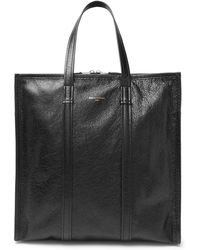 Balenciaga - Bazaar Arena Creased-leather Tote Bag - Lyst