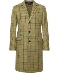 Rag & Bone - Yorke Plaid Wool Coat - Lyst