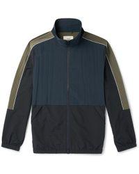Folk - Panelled Nylon Track Jacket - Lyst