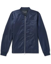 Club Monaco - Shell Bomber Jacket - Lyst