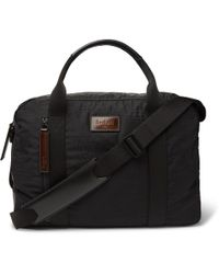 Berluti - Evasion Leather-trimmed Jacquard And Ripstop Holdall - Lyst