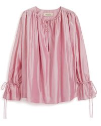 Mulberry | Cynthia Blouse | Lyst