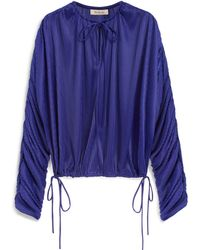 Mulberry | Molly Blouse | Lyst