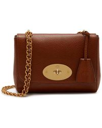 66ff06fc6d Mulberry - Lily In Oxblood Natural Grain Leather - Lyst