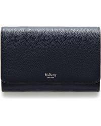 Mulberry - Continental Medium French Wallet  - Lyst