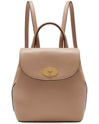 4f67554778a9 Mulberry - Mini Bayswater Backpack In Rosewater Small Classic Grain - Lyst