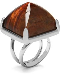 Mulberry - Stud Ring - Lyst