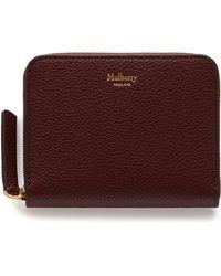 Mulberry - Small Zip Around Purse - Lyst