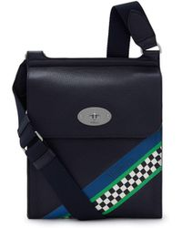 Mulberry - New Antony In Midnight Racing Stripes - Lyst