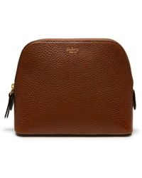 0260d82b81 Mulberry - Cosmetic Pouch In Oak Natural Grain Leather - Lyst