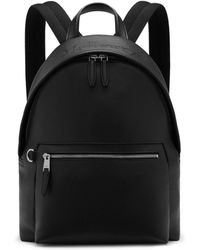 8225c8ed1c Mulberry - Zipped Backpack In Black Small Classic Grain - Lyst