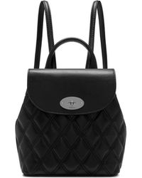 Mulberry - Mini Bayswater Backpack In Black - Lyst