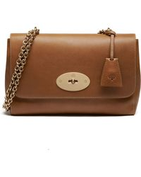 Mulberry - Lily Medium Natural Leather Crossbody - Lyst